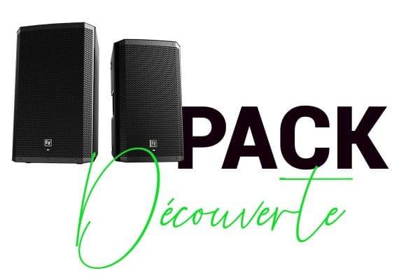 PACK DÉCOUVERTE- Location de matériel sonorisation pour évènements jusqu'à 50 personnes