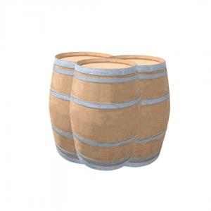 Tonneaux bois